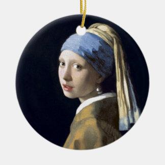 A menina com o brinco da pérola ornamento