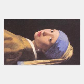 A menina com o brinco da pérola por Vermeer