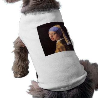 A menina com o brinco da pérola por Vermeer Roupa Para Pets
