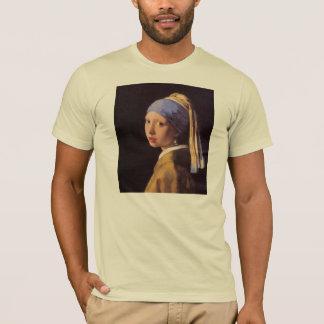 A menina com o brinco da pérola por Vermeer Camiseta