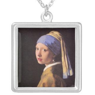 A menina com o brinco da pérola por Vermeer Bijuteria