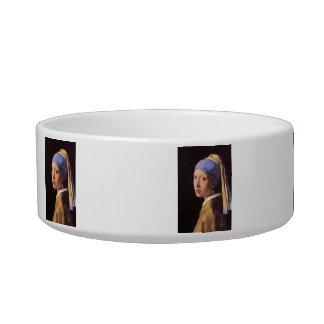A menina com o brinco da pérola por Vermeer Tijelas Para Comida De Gatos