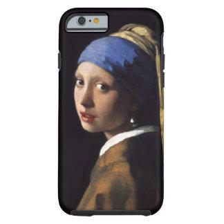 A menina com um brinco da pérola por Johannes Capa Tough Para iPhone 6