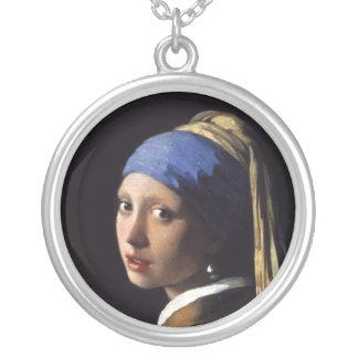 A menina com um brinco da pérola por Johannes Verm Colares Personalizados