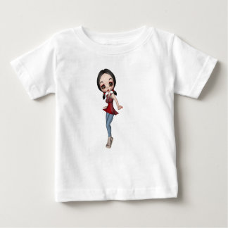 A menina de Gran a personalizar T-shirt