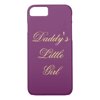 A menina do pai capa iPhone 7