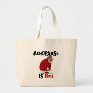 A menopausa está quente bolsa
