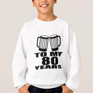 A meus 80 anos do aniversário agasalho