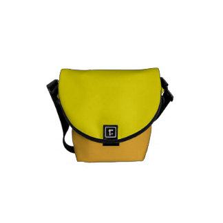 """A mini bolsa mensageiro: """"Amarelo"""" Bolsa Mensageiro"""