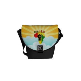 A mini bolsa mensageiro de Rasta