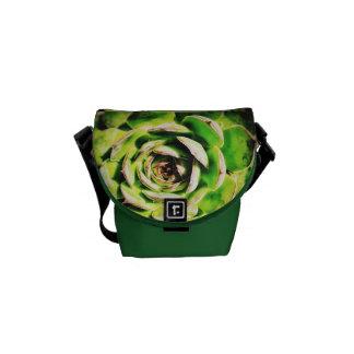 A mini bolsa mensageiro do Succulent