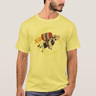 A missão bem sucedida da vaca sobre a lua camiseta