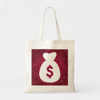 A moeda armazena a imagem gráfica sacola tote budget
