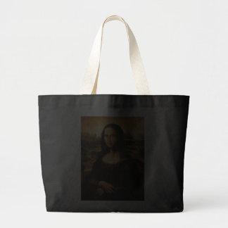A Mona Lisa por Leonardo da Vinci Bolsa De Lona