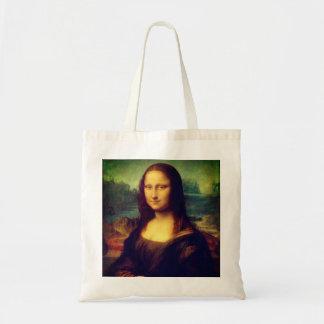 A Mona Lisa por Leonardo da Vinci Bolsa Tote