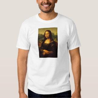 A Mona Lisa por Leonardo da Vinci C. 1503-1505 Camisetas