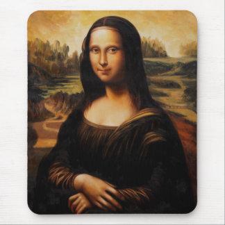 A Mona Lisa por Leonardo da Vinci Mouse Pad