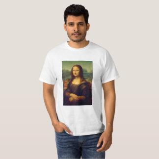 A Mona Lisa por Leonardo da Vinci T-shirt