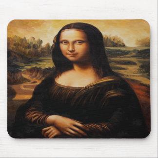 A Mona Lisa por Leonardo da Vinci Mousepad