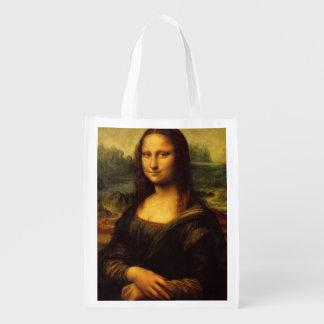 A Mona Lisa Sacolas Reusáveis