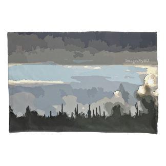A monção nubla-se a caixa padrão do travesseiro