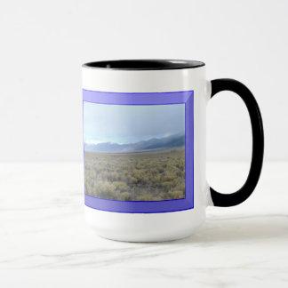 A montanha de Colorado cobre a caneca da campainha