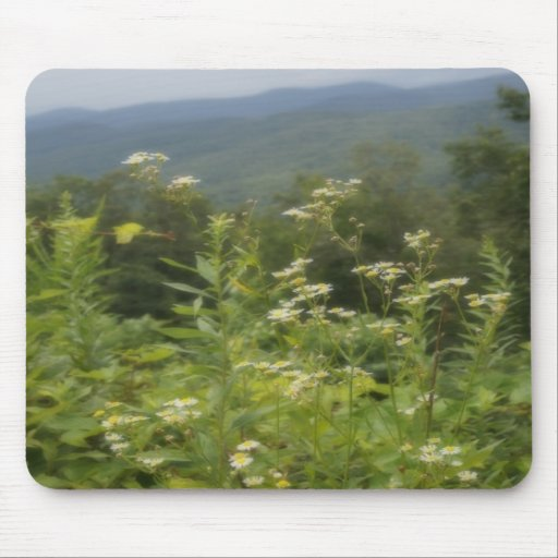 A montanha floresce Mousepad
