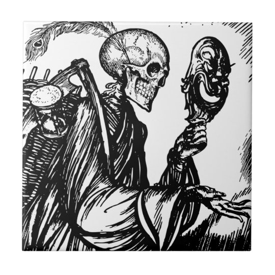 A morte chama