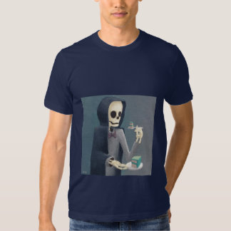 A morte é desviada pelo bolo camiseta