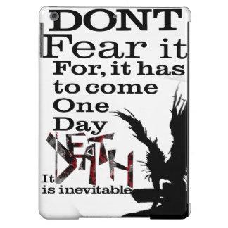 A morte é inevitável - caso capa para iPad air