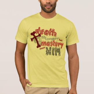 A morte não tem nenhum domínio camiseta