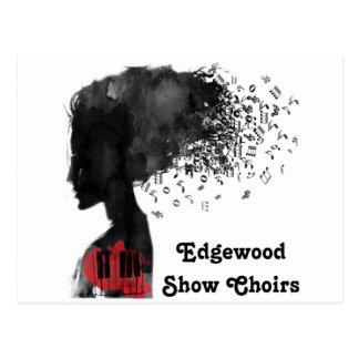 A mostra de Edgewood Choirs cartões Cartão Postal