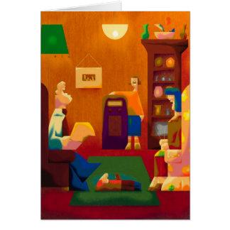 a mostra de Jack Benny - cartão vazio