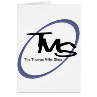 A mostra de Thomas Miller Cartão Comemorativo