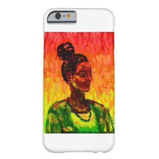 A mulher - capas de iphone abstratas do design