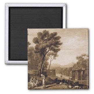 A mulher e o pandeiro, gravados pela volta de Char Imã De Refrigerador
