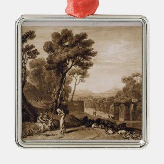 A mulher e o pandeiro, gravados pela volta de Char Ornamento Para Arvore De Natal