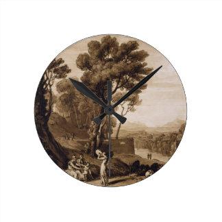 A mulher e o pandeiro, gravados pela volta de Char Relógios De Pendurar