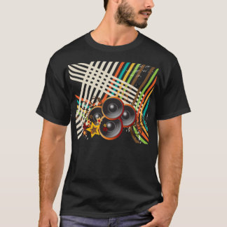 A música 2 camiseta