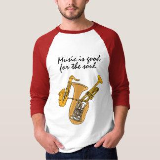 A música AA é boa para a camisa da alma