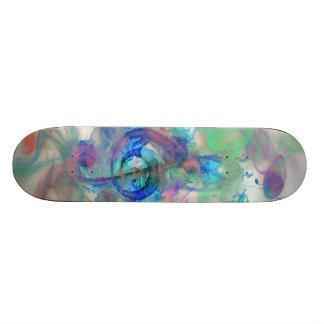 A música colorida legal nota a imagem dos efeitos  shape de skate 21,6cm