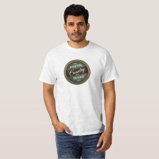 A música country texas EUA de austin Camiseta