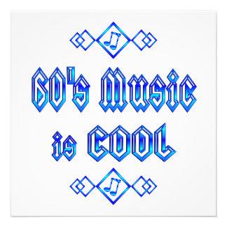 a música dos anos 60 é legal convite personalizado