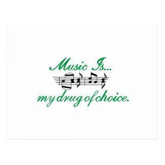 A música é… cartão postal