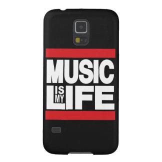 A música é meu vermelho da vida capinha galaxy s5