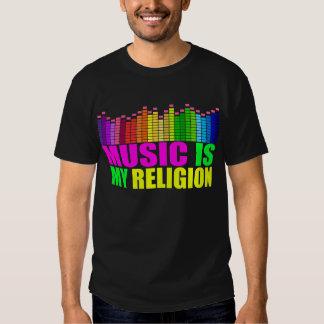 A música é minha camisa de Religiion Tshirt