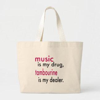 A música é minha droga pandeiro é meu negociante bolsa