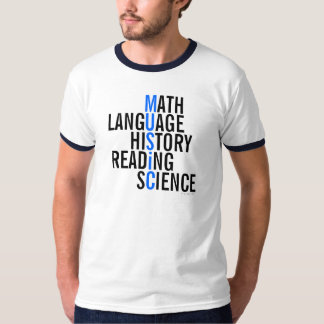 A música ensina o TShirt 3 Camiseta