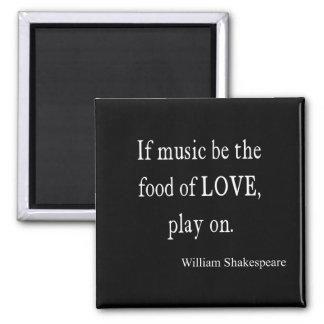 A música seja a comida de citações das citações de imã