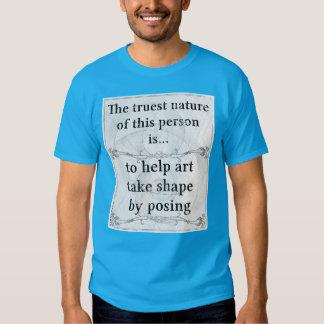A natureza a mais verdadeira: levantamento camiseta